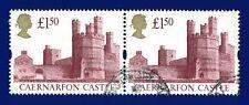 1992 SG1612 £1.50 Caernarfon Castle Pair Good Used aryq