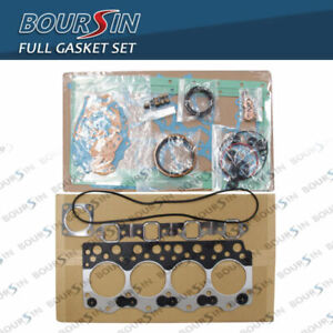STEEL FULL GASKET SET FIT KOMATSU PC70-6 PC60-6C PC60-Z PC60L-6 4D95L-1