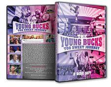 The Young Bucks - Too Sweet Journey DVD Set, PWG ROH TNA Matt Nick Jackson NJPW