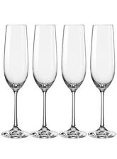 Crystalite Bohemia champagne flute glasses 4pc set  250ml #XmasBonus
