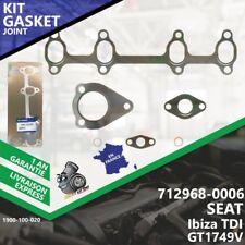 Gasket Turbo SEAT Ibiza TDI 712968-6 712968-0006 712968-5006S GT1749V AFN-020