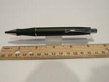 Terzetti Explorer Metal Large Click Top Ballpoint Pen- Black