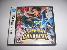 Original Nintendo DS Replacement Box Case for Pokemon Conquest *NO GAME*