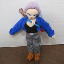 "DRAGON BALL Z Super Saiyan TRUNKS  Plush Doll Anime Figure RARE 13"" Kellytoy"