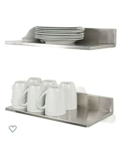 Stainless Steel Wall Mount Commercial and Home Premium Quality Floating Shelves