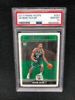Jayson Tatum 2017-18 Panini Hoops #253 Boston Celtics RC Rookie PSA 10 J97