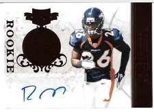 2011 Panini Plates and Patches #162 Rahim Moore Auto Rookie 349/405 (ref12414)