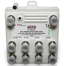 8-Port Bi-Directional Digital Cable TV HDTV Amplifier Splitter Signal Booster