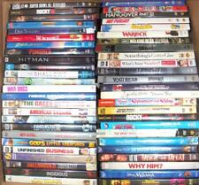 Wholesale Lot of 50 Used DVD Movies Feature Length Mixed Titles DVDS Moana