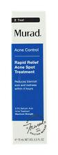 Murad Rapid Relief Acne Spot Treatment 0.5oz/15mL NEW AUTH Exp 01/20
