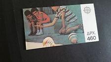 GREECE 1989 SG 1825B-1826B EUROPA,CHILDRENS TOYS  BOOKLET MNH