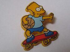 Pin's dessin animé / Bart Simpson (plastique signé 20th C Fox FC 1991)