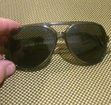 Vintage Hudson Z-87 Safety Eyeglasses Gray Grey Plastic Solid!