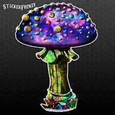 Magic Mushroom Alone Sticker Psychedelic Trippy 420 Funny Design car truck decal