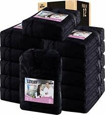 Women Fleece Bathrobe - Shawl Collar Soft Plush in Bulk Pack of 12 NY Thread