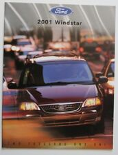 FORD WINDSTAR 2001 dealer brochure - English - Canada - ST1002000918