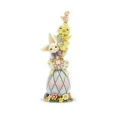 Jim Shore Heartwood Creek Stacked Easter Pint Sized Egg Bunny Figurine 6007164