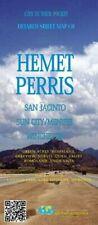 Detailed Street Map of Hemet, Perris, San Jacinto, California, by Global Graphic