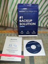 Acronis True Image 2016 1 computer PC or MAC CD never used USA Download
