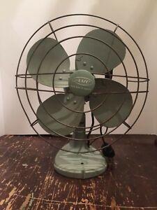 Vintage AMC Electric Metal Table Fan
