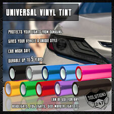 Vinyl Protection Film Smoke Tint Headlight Taillight Fog Light Sider Marker Wrap