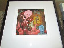 Hello Portfolio Mark Ryden signed print Gary Baseman Tim Biskup lowbrow rare
