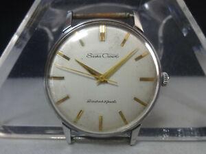 Vintage 1961 SEIKO mechanical watch [Seiko Crown] Diashock 21 Jewels Cal.560