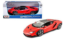 MAISTO LAMBORGHINI CENTENARIO RED 1/18 DIECAST MODEL CAR 31386RED
