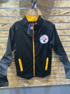 Pittsburgh Steelers  Small Iconic Defender Full Zip Jacket