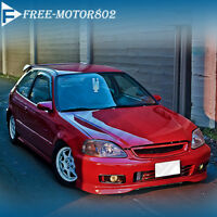 FOR 99-00 HONDA CIVIC JDM TYPE R STYLE FRONT HOOD GRILL GRILLE ABS