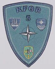 Bundeswehr Aufnäher Patch NATO KFOR 5 ................A2032