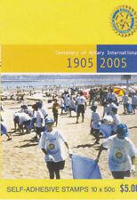 2005 Rotary International 100 Years - Stamp Booklet (SB182)