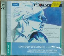 2CD Leopold Stokowski conducts Blacher Milhaud Egk..SWR Hänssler 2009 neu & ovp