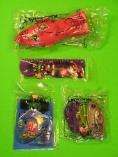 Subway 1998 Marvin the Martian's 50th - set of 4 *MIP*
