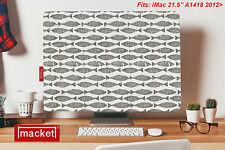 """PC Cover / Dust Jacket - Apple iMac Desktop 21.5"""" - MACKET - Mackerel SKY Grey"""
