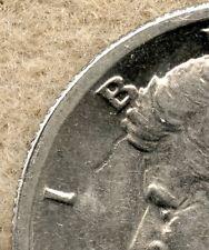 1971 ~ KENNEDY HALF DOLLAR ~ AU ~ STRUCK THRU WIRE OBV ERROR