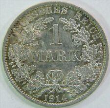 1 MARK 1914 A DEUTSCHES REICH GOOD CONDITION