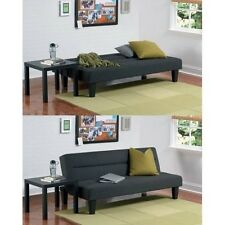Futon Sofa Bed Couch Furniture Lounger Sleeper Dorm Living Room Modern Full Blak