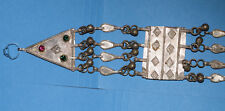 Rare Antique Handmade Egpytian Bedoudin Silver Nubian hanging Artwork 3 of 4