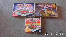 3 x Monopoly Spiele ungespielter Zustand