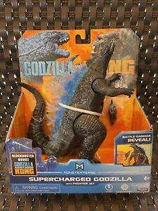 """Playmates Godzilla vs Kong 6"""" Action Figure - Supercharged Godzilla - New"""