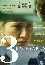3 Backyards (2010) Embeth Davidtz, Edie Falco, Elias Koteas DVD BRAND NEW