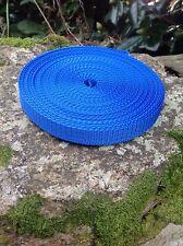 10m Royal Blue 15 Mm De Nylon De Cincha De Cinta