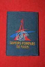Insigne militaire patch tissu armée écusson Sapeurs Pompiers de Paris SDIS
