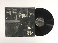 JULIETTE GRECO S/T LP Barclay 80.468 France 1972 VG++ 5B/A