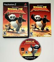 Kung Fu Panda (Sony PlayStation 2, 2008) Complete with Manual