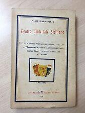 65265 Nino Martoglio - Teatro dialettale Siciliano - Giannotta 1928
