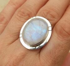 Markenlose Ovale Echte Edelstein-Ringe mit Mondstein