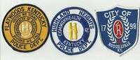 Flatwoods / Highland Heights / Russellville (KENTUCKY) Police Patches