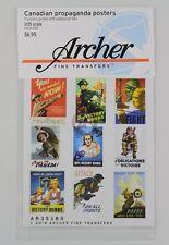 Archer Fine Transfers 1/35 Canadian Propaganda Posters WWII (17 Posters) AR35385